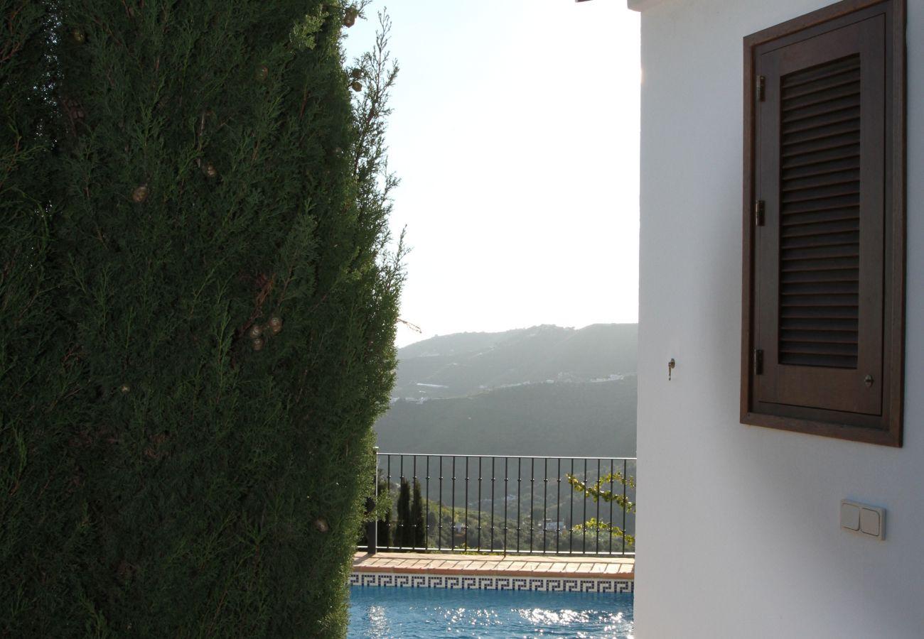 Villa in Frigiliana - Casa de las Artes - picturesquely beautiful villa and surroundings