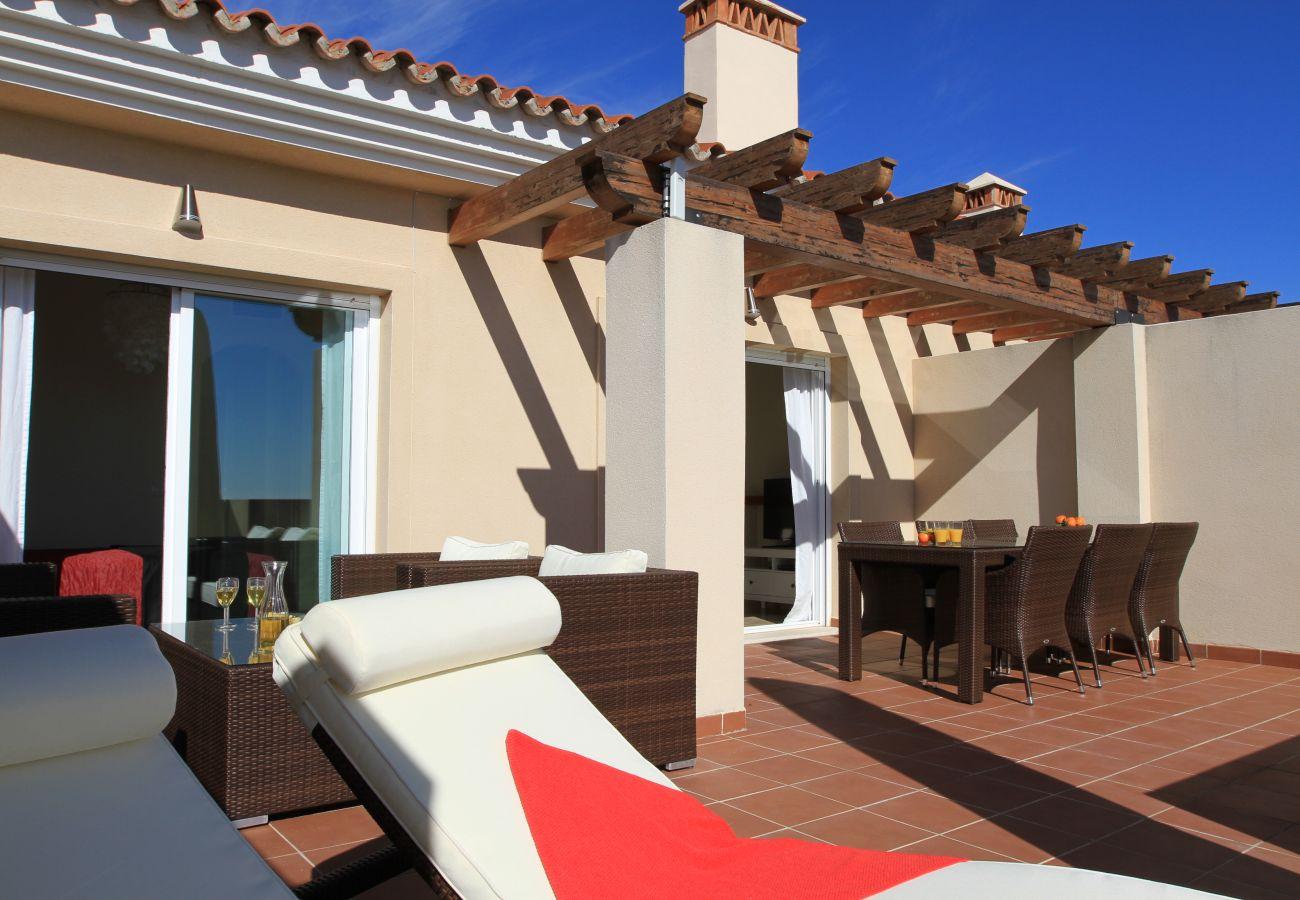 Apartment in Mijas Costa - La Mirada - Penthouse Terrace and Sea View