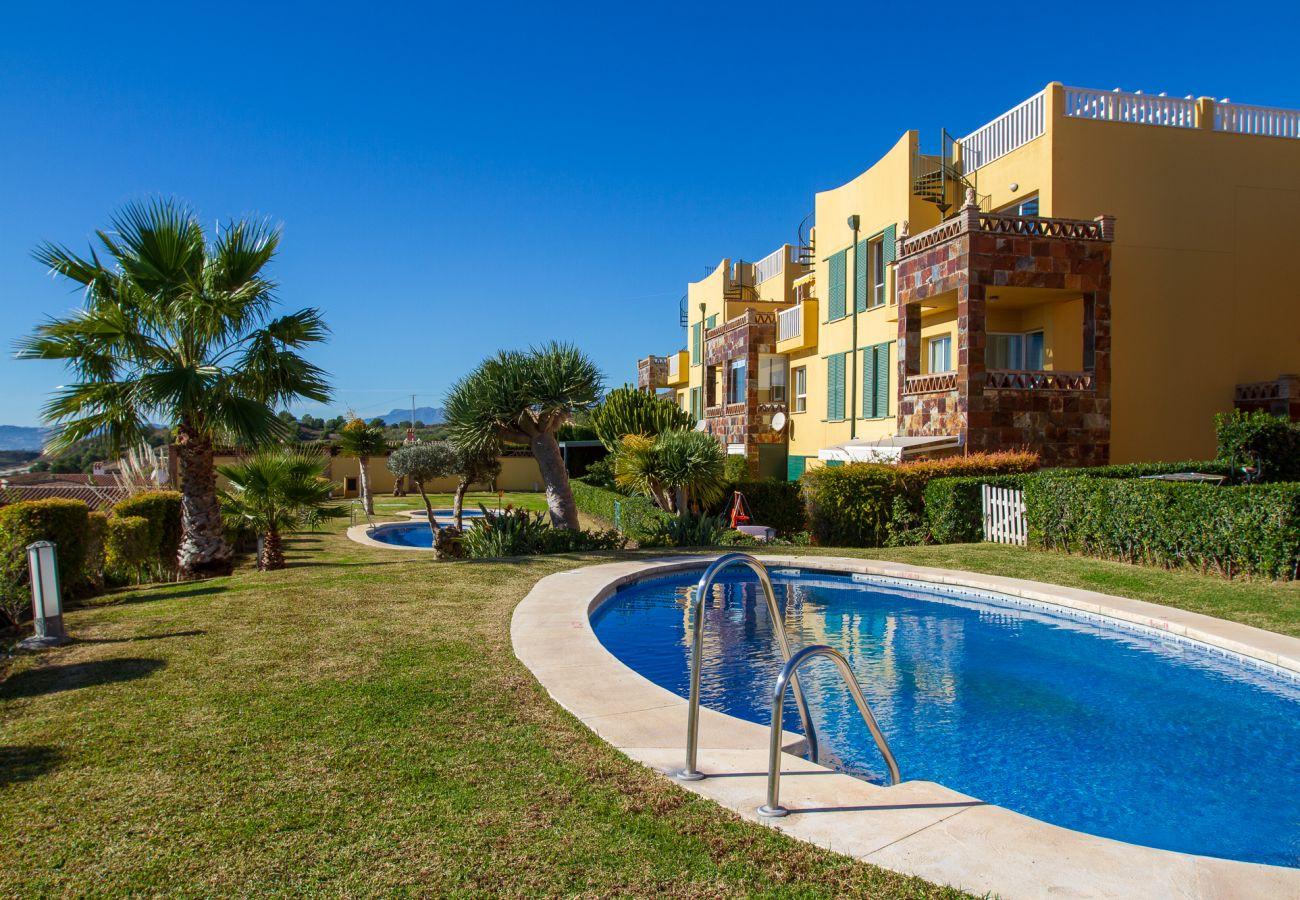 Townhouse in Benalmadena - Reserva del Higueron - Exclusive Townhouse, private garden, sea view