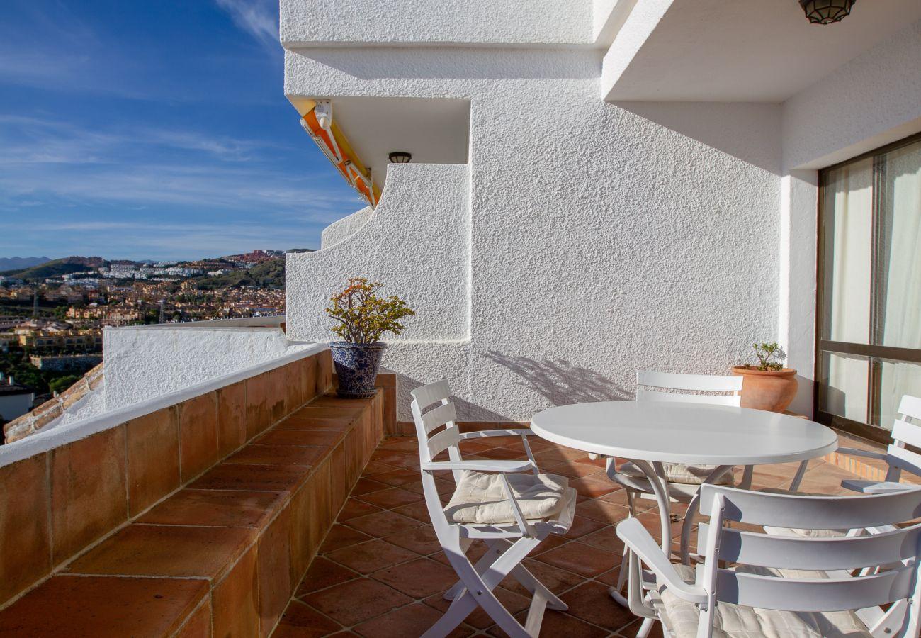 Apartment in Mijas Costa - Pueblo del Sol - Lovely apartment with Mediterranean Sea View