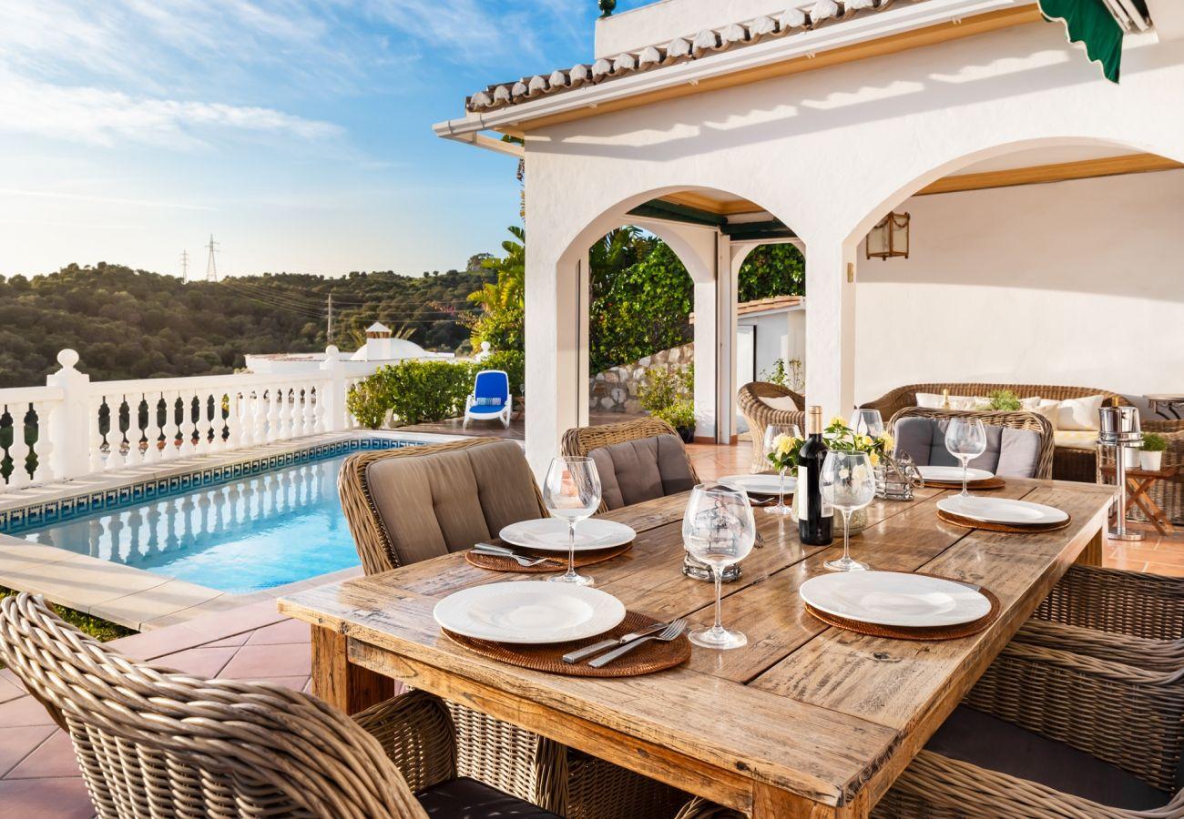 Villa in Mijas Costa - Villa Panorama, Mijas Costa - Beautiful 4 bedroom villa, private pool
