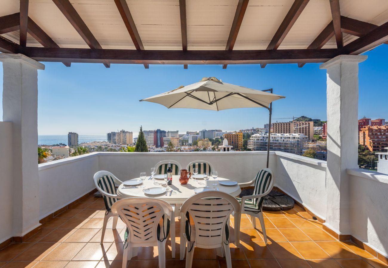 Apartment in Benalmadena - Pueblo Evita III, Benalmadena - 3 BED / 2 BATH, terrace, sea view