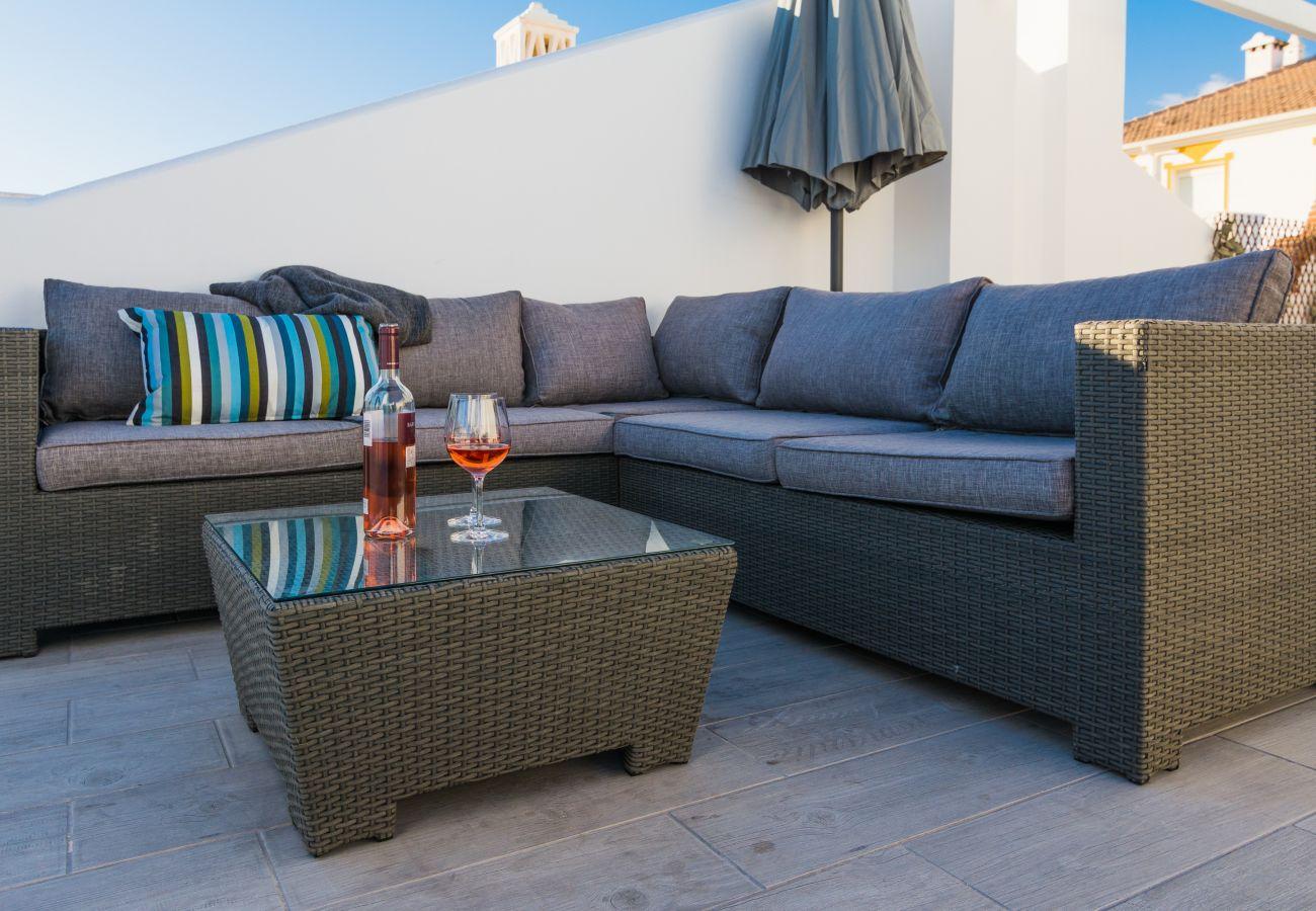 Apartment in Benalmadena - Balcon de Benalmadena - Unique Penthouse Terrace w/ Mediterranean View