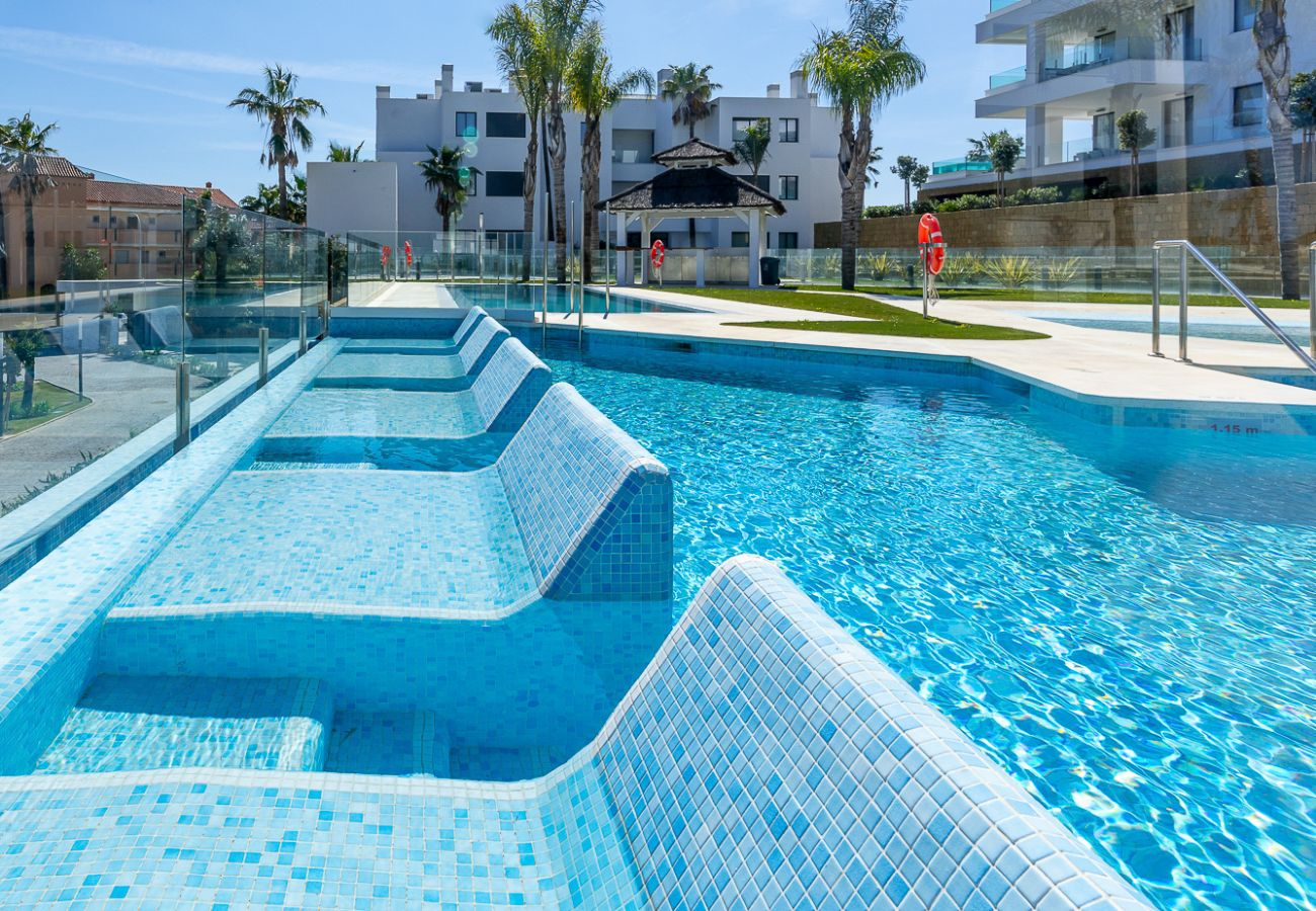 Apartment in Mijas Costa - Santa Barbara Heights CLC - Luxury, private pool on terrace, sea view