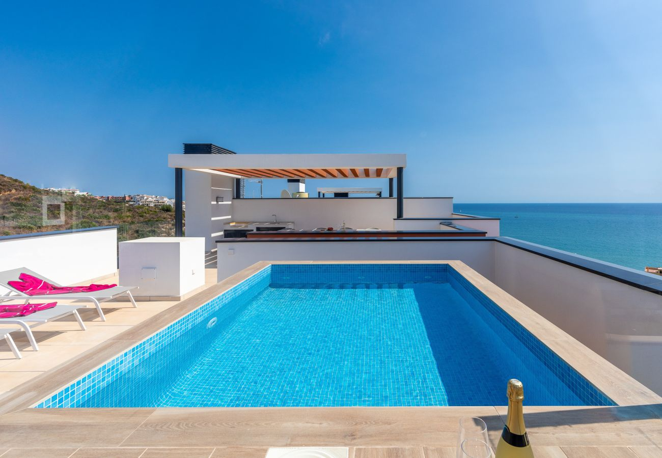 Apartment in Fuengirola - Penthouse Middle Views | Luxury private terrace pool, sea view